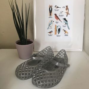 Other - Glitter jelly shoes